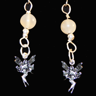 Fairy earrings with moonstones